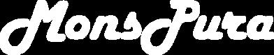 Mons Pura White Logo