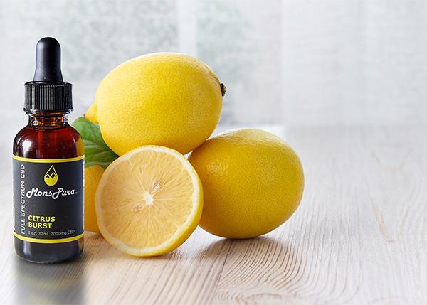 Citrus Tincture with Lemons